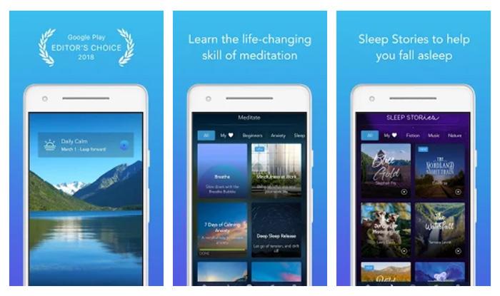 Apps de meditación - Calm