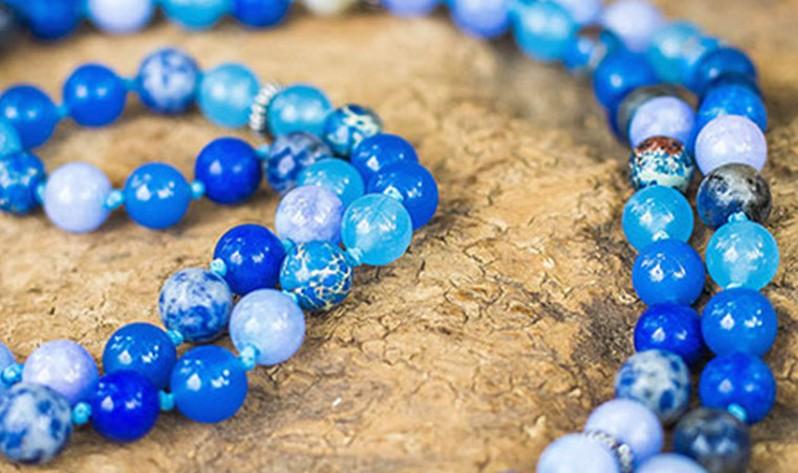 Aprende más sobre los colores de mis Japa Malas - Infinito Azul