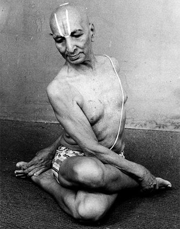 Descubre los 5 tipos de yoga clásicos - Tirumalai Krishnamacharya