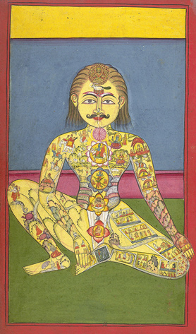 Cuáles son los 7 chakras - India
