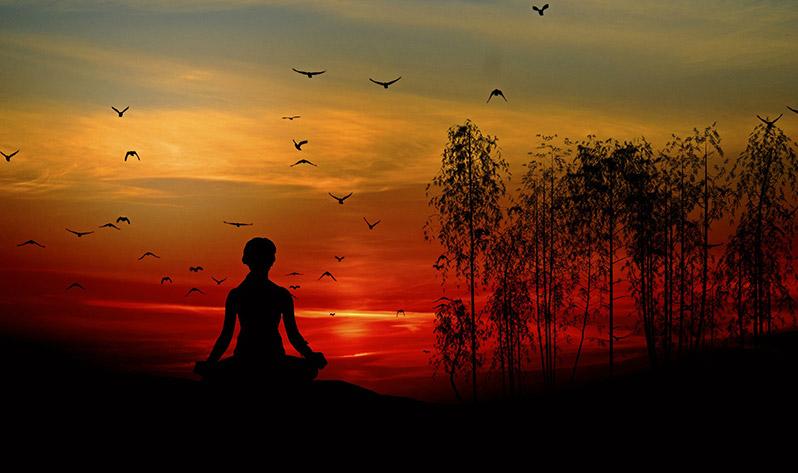 ¿Cuándo meditar? - Atardecer