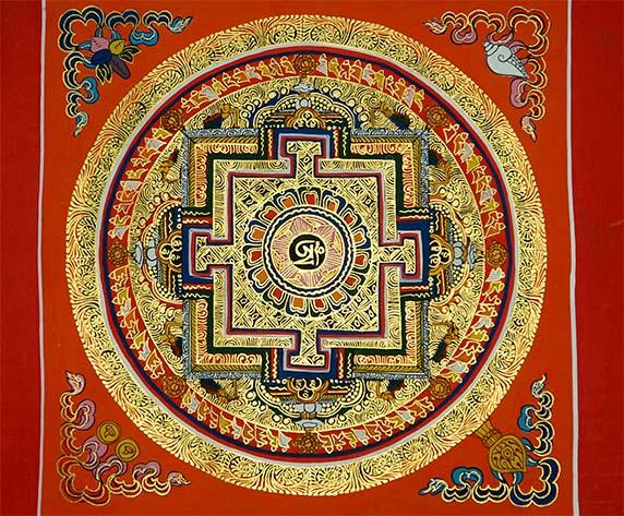 Qué es un mandala - Tibet