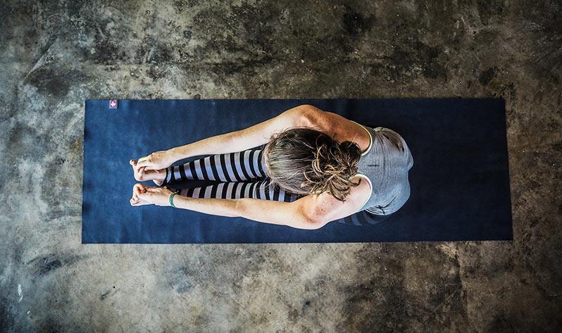 Qué es el yin yoga - Postura superior