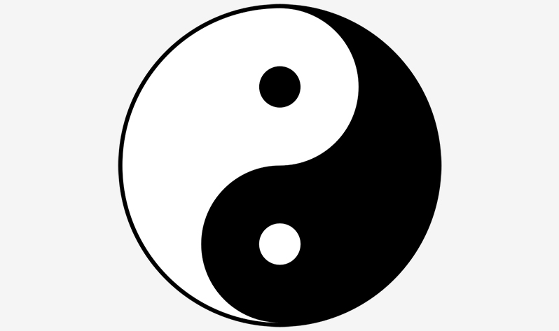 Qué es el yin yoga - Yin-yang