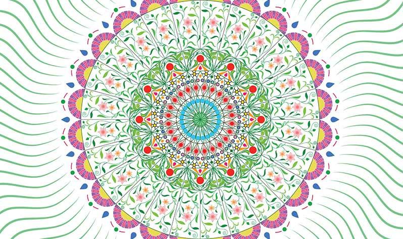 Cómo meditar con un mandala - Diseño