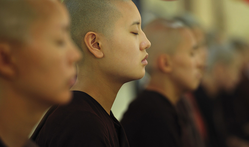 Meditación con kirtan - Budismo