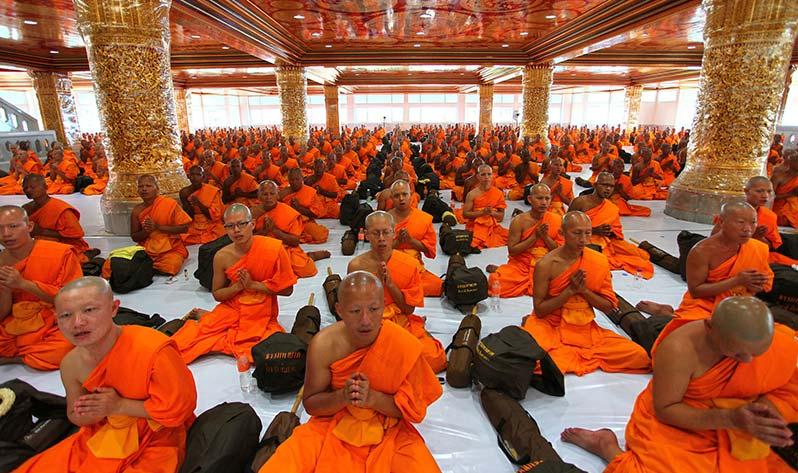 Meditación con kirtan - Templo