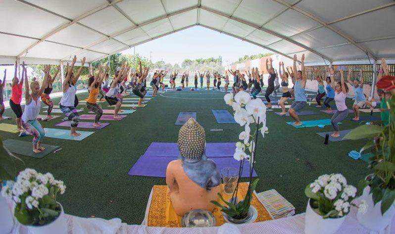 Aumjoia estará en el Village de la Barcelona Yoga Conference 2019 - Clase