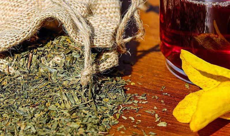 Infusiones para el yoga - Hojitas de té