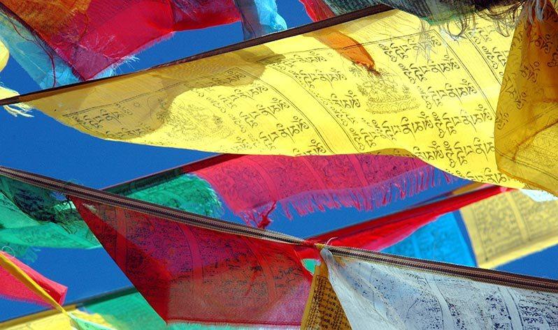Conoce mejor el Tíbet, una de las cunas de las Japa Malas - Banderas