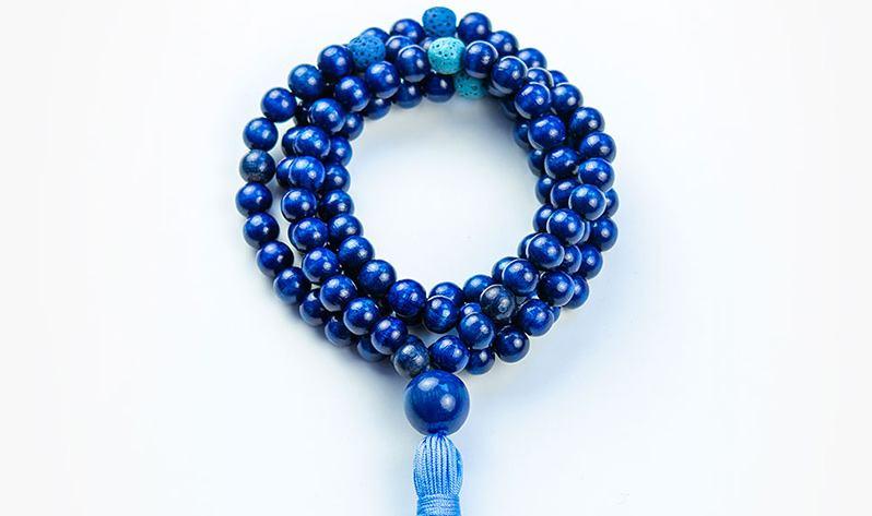 Japa Malas de madera - Azul