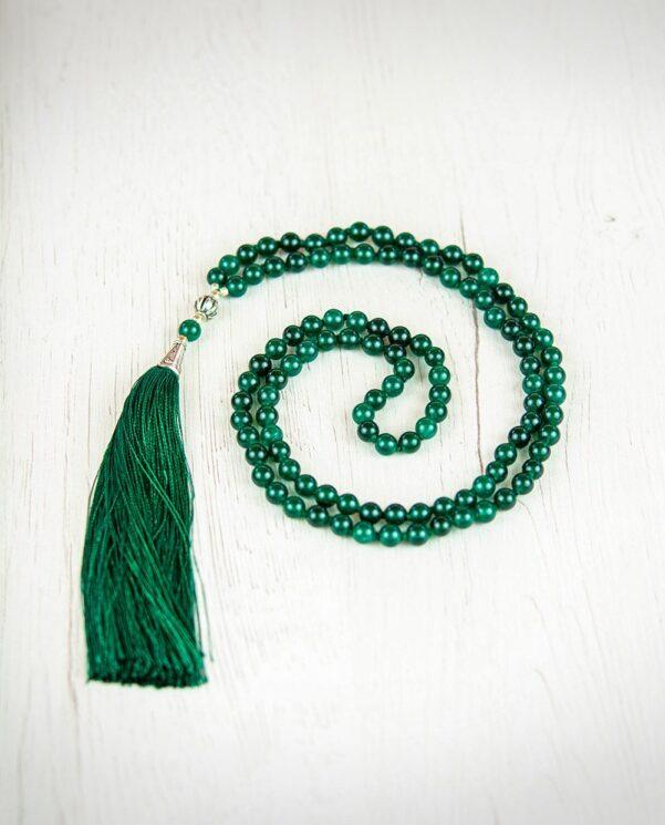 JapaMala Green Onyx