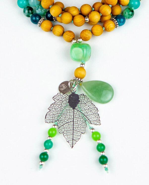 japamala Blend Hoja Verde tassel