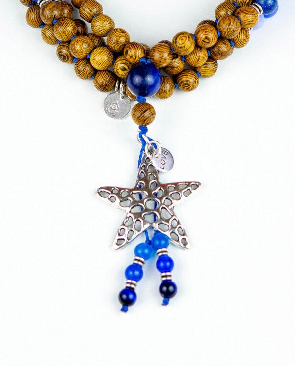 japamala Blend Estrella Azul tassel
