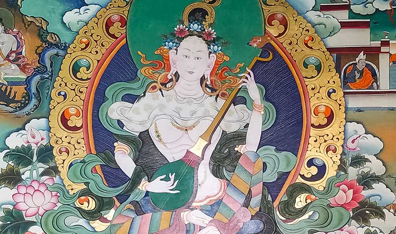 Yeshe Tsogyal: la gran yoguini del budismo tibetano - Instrumento