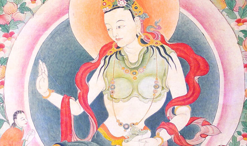 Yeshe Tsogyal: la gran yoguini del budismo tibetano - Mural
