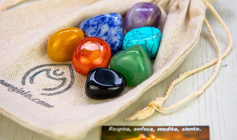 Equilibra el chakra de la garganta con nuestras Japa Malas y gemas - Kit
