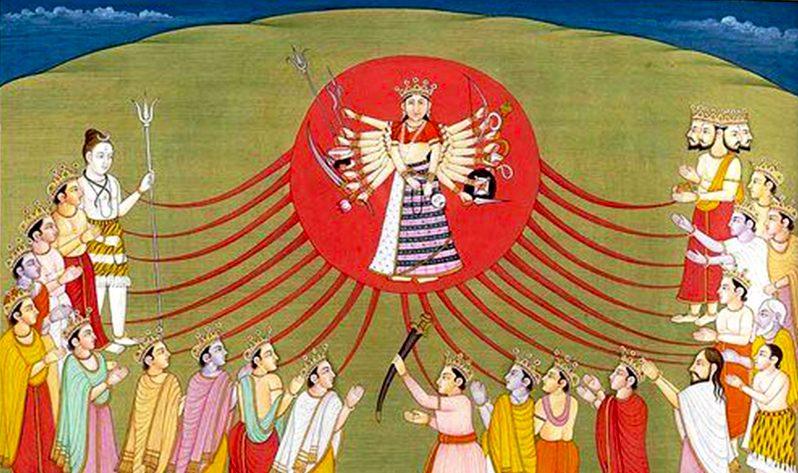Durga, la diosa hindú que nos ayuda a sacar nuestra fuerza interior - Invocación