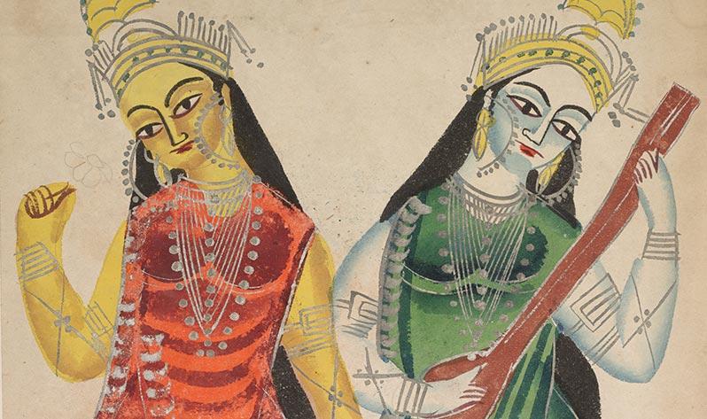 Sarasvati, la diosa del conocimiento que guía nuestro aprendizaje - Laksmí y Sarasvati