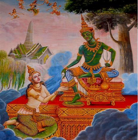 Laksmí, la Diosa Madre de la prosperidad espiritual y material - Buda