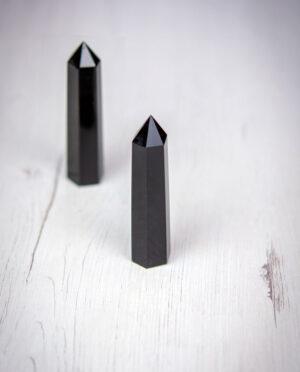 puntas generadoras de cuarzo obsidiana aumjoia