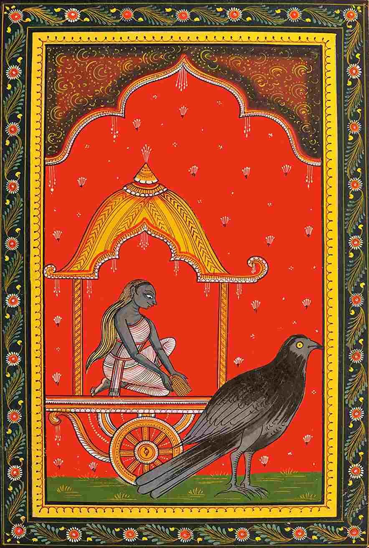 Dhumavati, la diosa que nos enseña a superar la pérdida y el vacío - Carro vacío