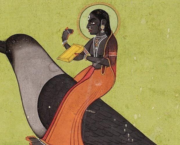 Dhumavati, la diosa que nos enseña a superar la pérdida y el vacío - Cuervo