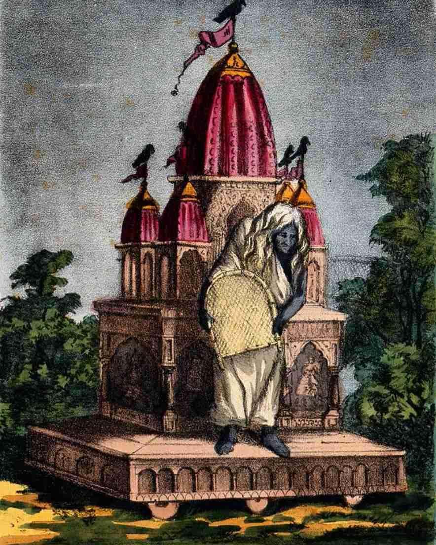 Dhumavati, la diosa que nos enseña a superar la pérdida y el vacío - Dibujo 2