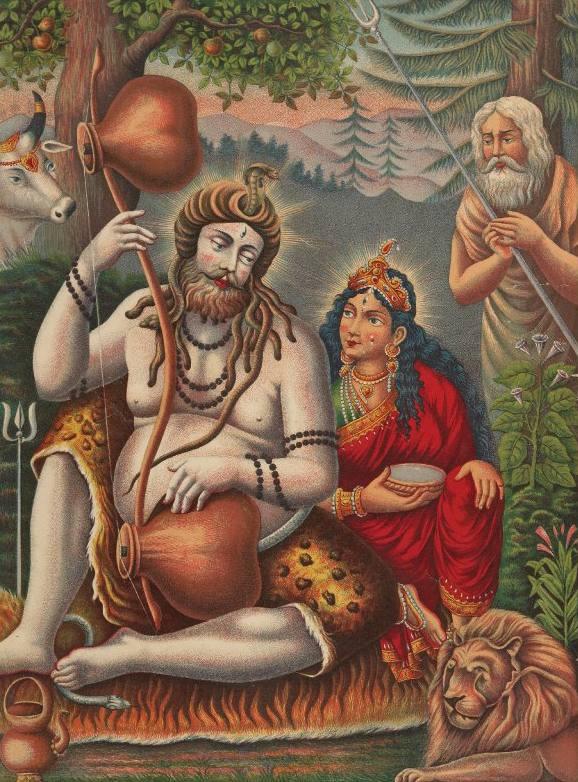 Parvati, la Diosa Madre de la fertilidad que equilibra el mundo - Con Shiva en el Himalaya