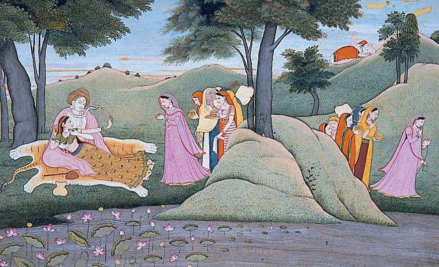 Parvati, la Diosa Madre de la fertilidad que equilibra el mundo - Con Shiva siendo agasajados 2