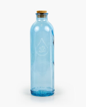 aumjoia botella de vidrio OM
