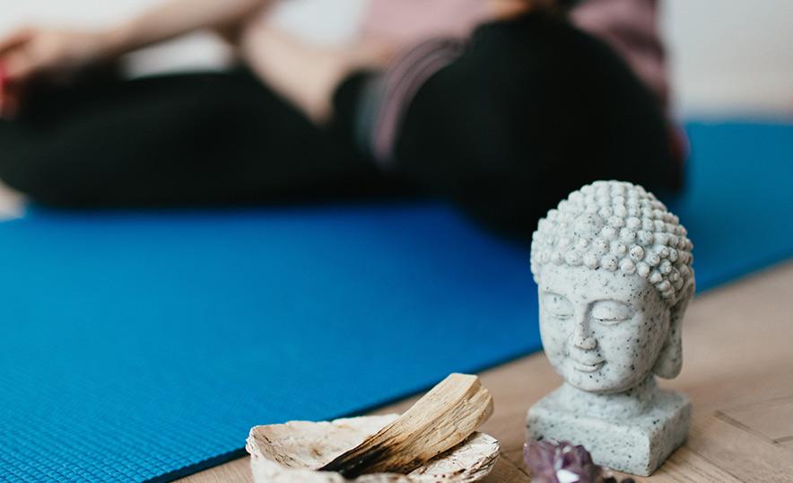 Descubre la historia del mat de yoga y conoce los modelos de aumjoia - Buda
