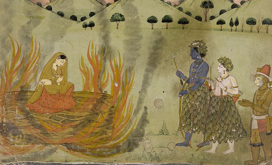 Sita, diosa de la abundancia, ejemplo de fortaleza y virtud femenina - Portada