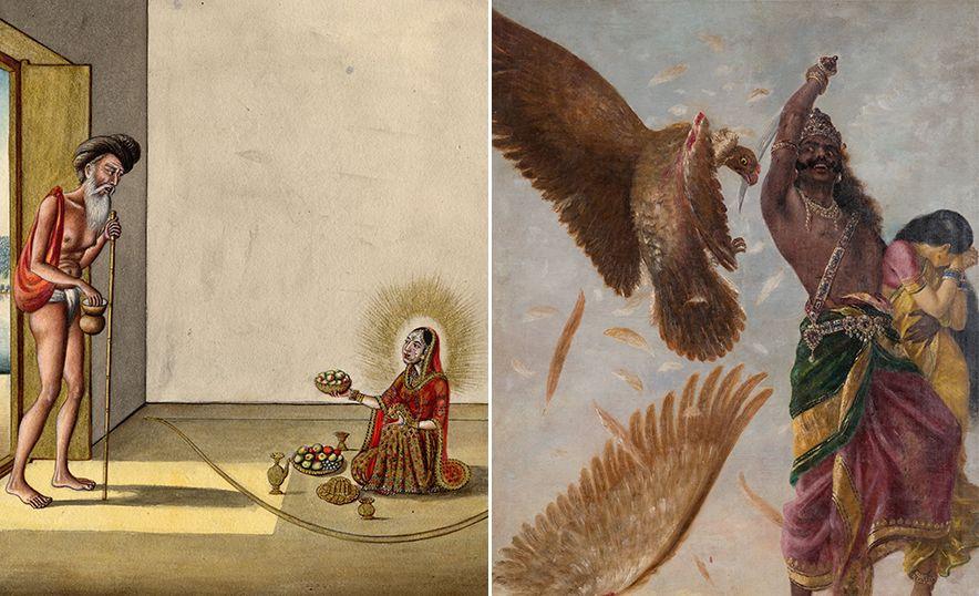 Sita, diosa de la abundancia, ejemplo de fortaleza y virtud femenina - Rapto