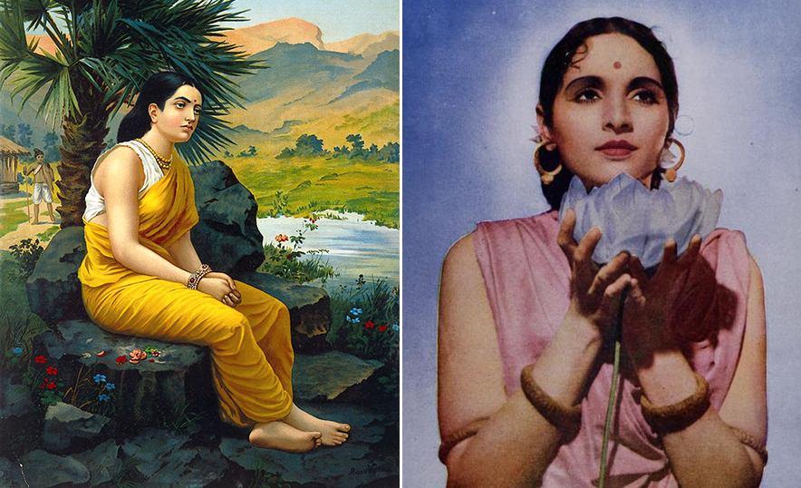 Sita, diosa de la abundancia, ejemplo de fortaleza y virtud femenina - Representaciones