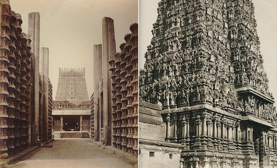 Meenakshi, la diosa guerrera que ganó el trono y el amor de Shiva - Templo antigua