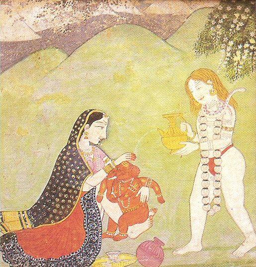 Ganesha, el dios hindú que elimina los obstáculos - Baño