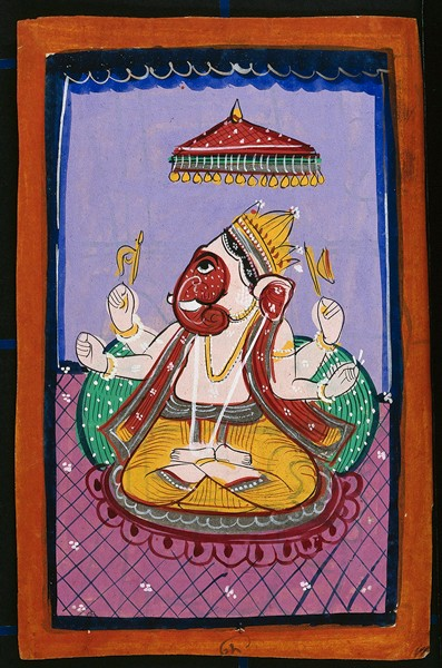 Ganesha, el dios hindú que elimina los obstáculos - Dibujo