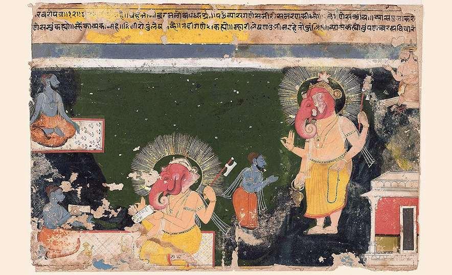 Ganesha, el dios hindú que elimina los obstáculos - Vyasa