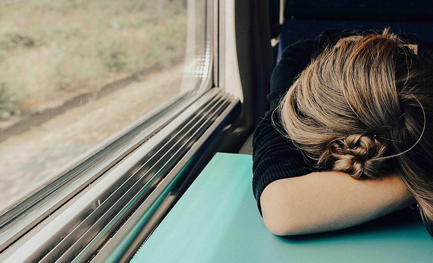 Ante el burnout, yoga y meditación con Japa Mala - Tren