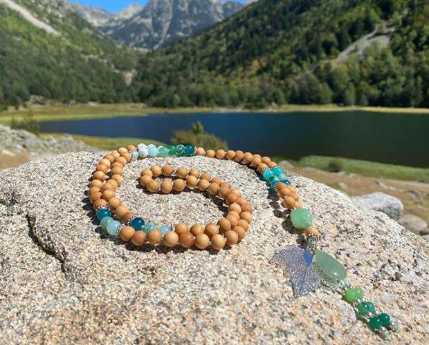 Volvemos a descubrir el mundo: mindfulness, meditación y yoga para viajar (Japa Mala)