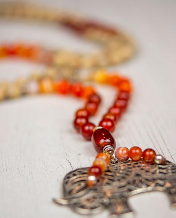 Japa Mala Gran Ganesha aumprana - Ganesha Mantra detalle guru